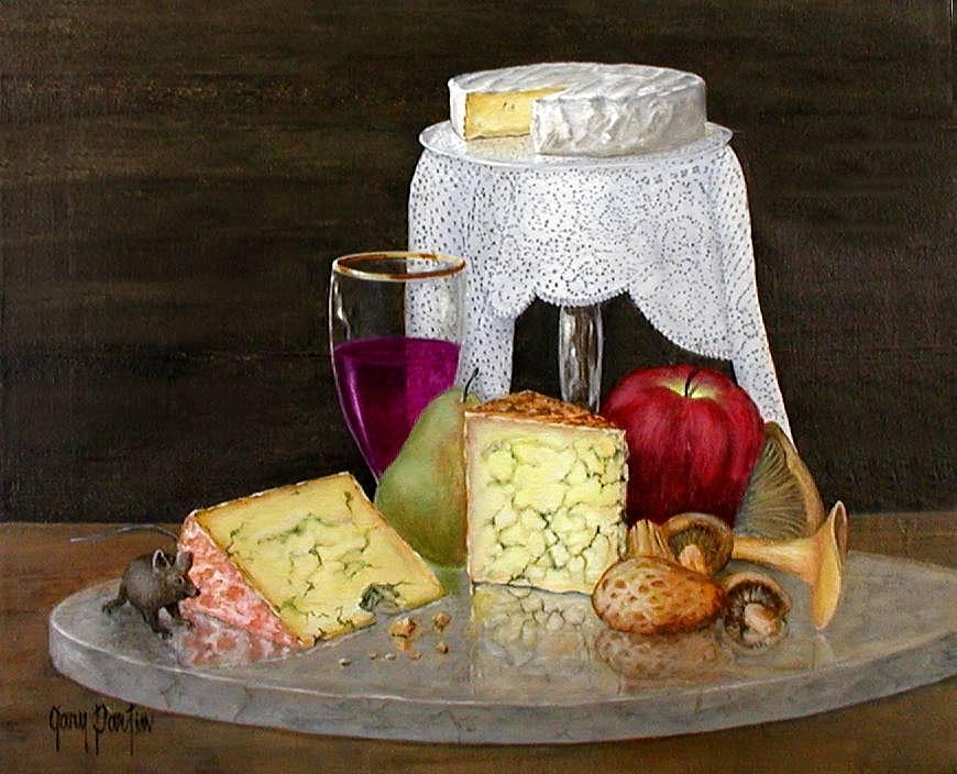 Cheese Delight by Gary Partin