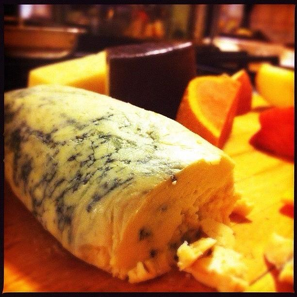 Cheese Photograph - Cheese!! Mimolette, Brie, Red Wine by Jennifer Augustine