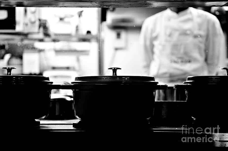 Kitchen Photograph - Chef by Dean Harte