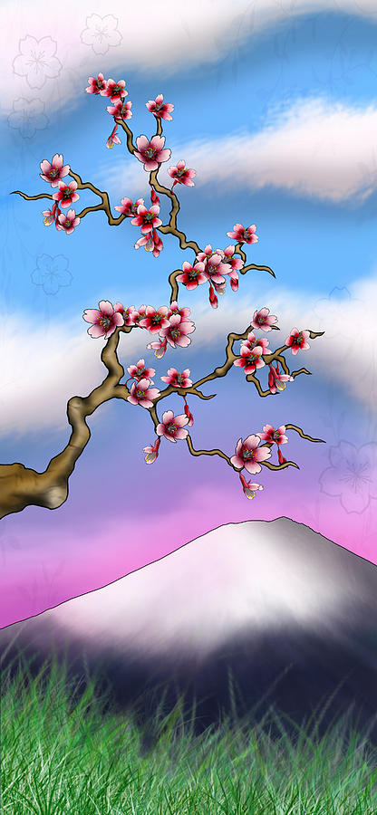 Cherry Blossoms Digital Art - Cherry Blossoms by Anthony Citro
