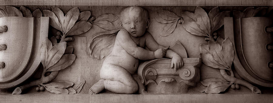 Cherub Photograph - Cherubs 3 by Andrew Fare
