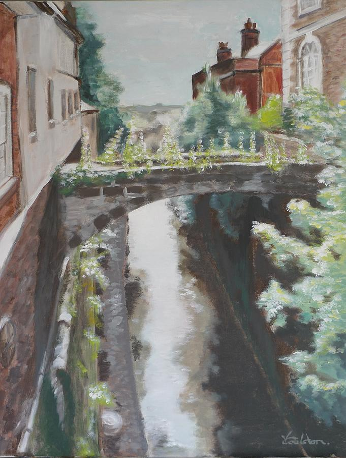 Architecture Painting - Chester Canal by Veronica Coulston
