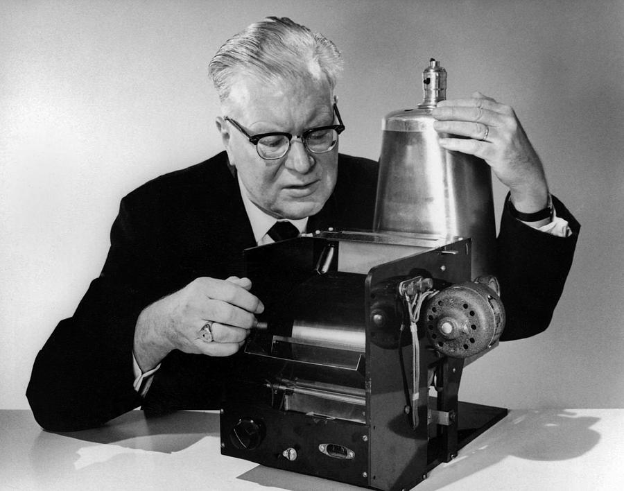 History Photograph - Chester Carlson 1906-1968 by Everett