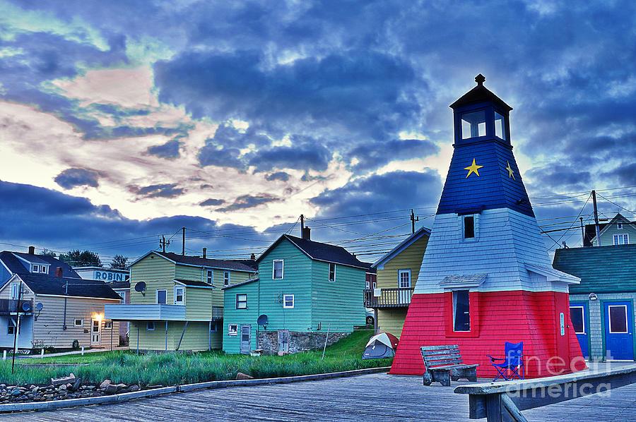 Cheticamp In Cape Breton Nova Scotia Photograph