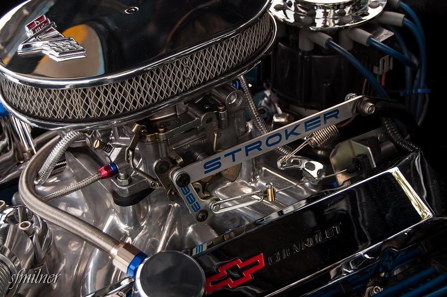 Chevrolet Photograph - Chevelle Stroker by Steven Milner