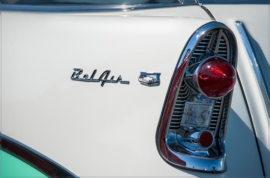 Belair Photograph - Chevrolet Belair by Gary Rose