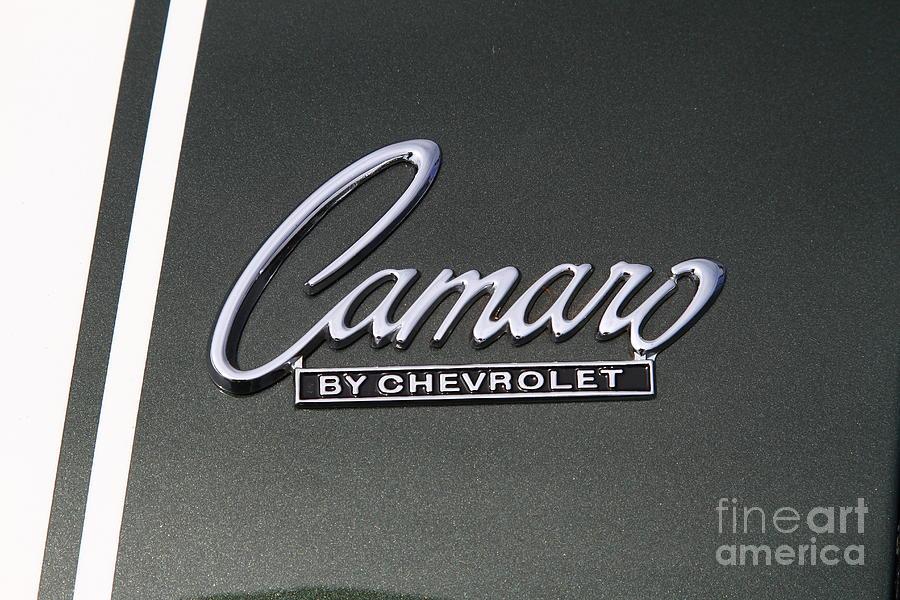 Chevrolet Chevy Camaro Emblem 7d15197 Photograph By