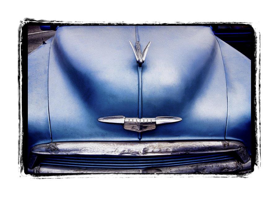 Framed Pyrography - Chevrolet  by Mauro Celotti