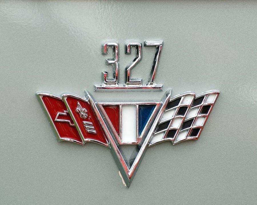 LE BON NUMERO - Page 16 Chevy-327-emblem-david-campione