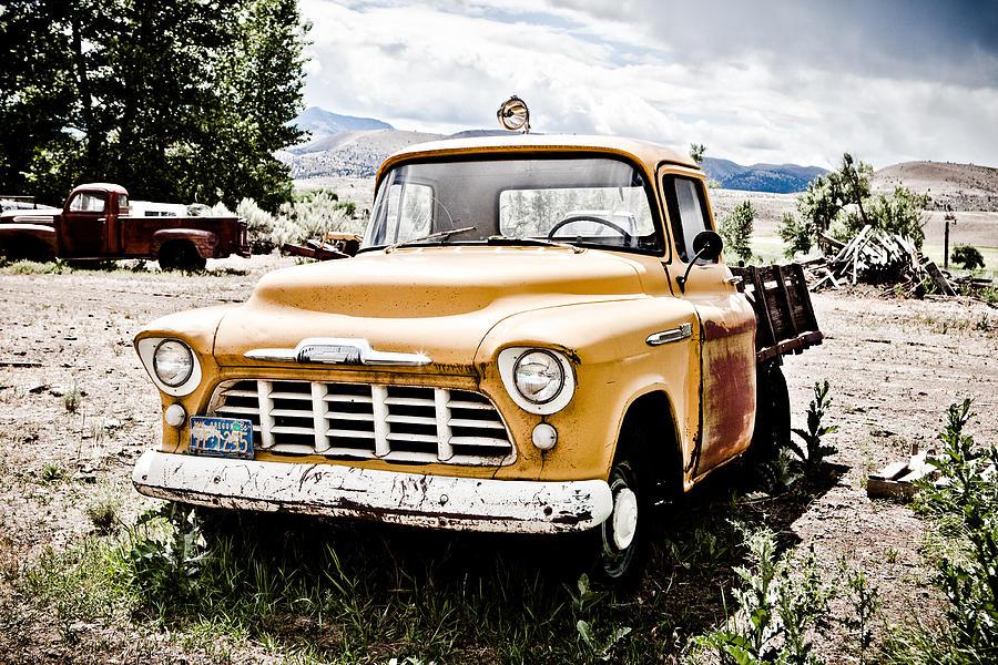 Chevy Photograph - Chevy Taxi Cab  by Sheri Van Wert