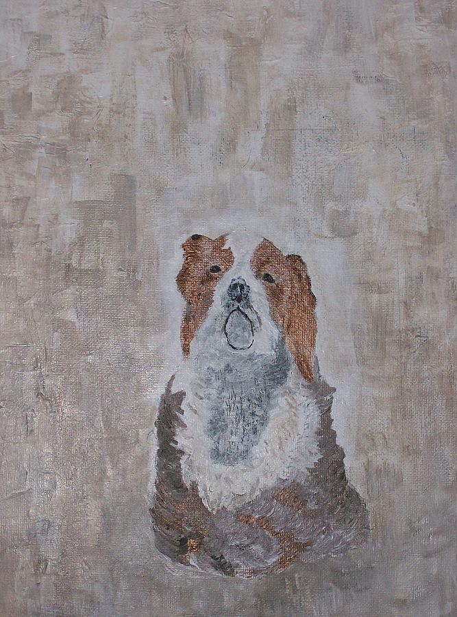 Dogs Painting - Chiari Dog by Roy Penny