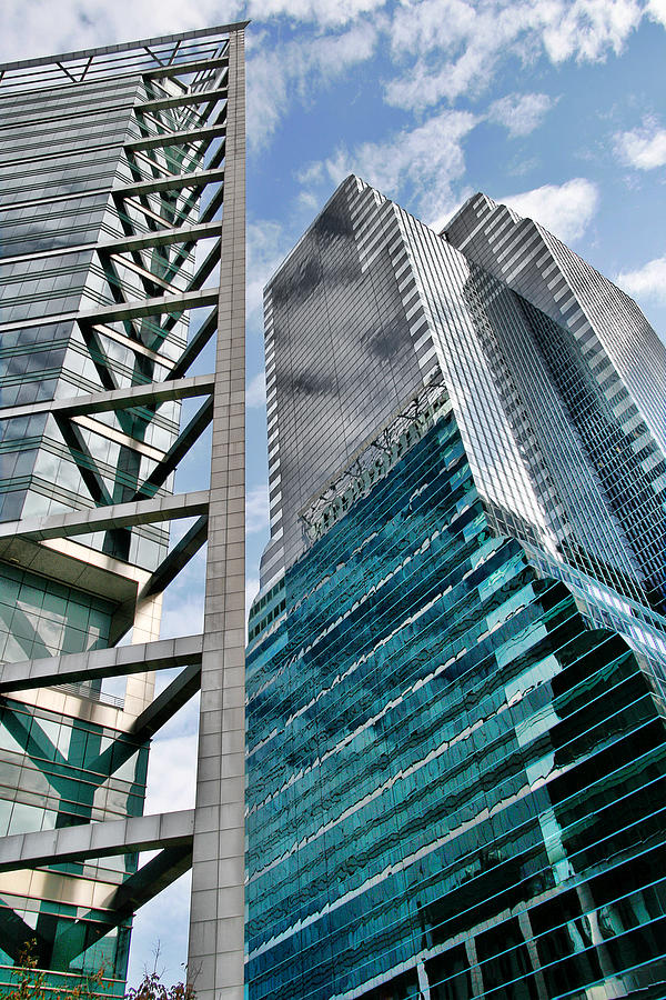 Downtown Photograph - Chicago - A Sophisticated Finance Hub by Christine Till
