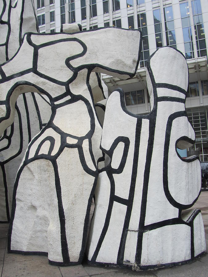 Dubuffet Scultptue In Chicago Photograph - Chicago Dubuffet-2 by Todd Sherlock