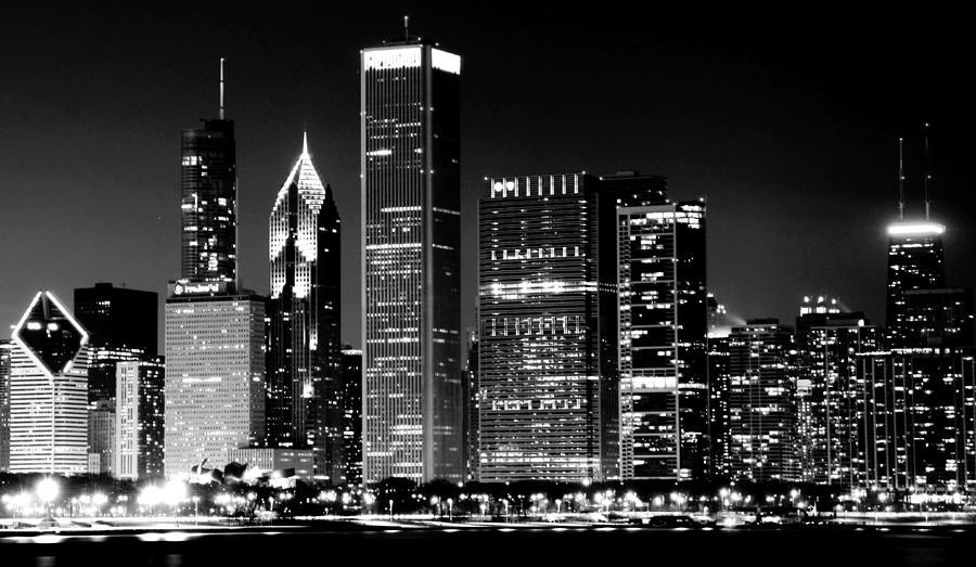Horizontal photograph chicago famous cityscape by luiz felipe castro