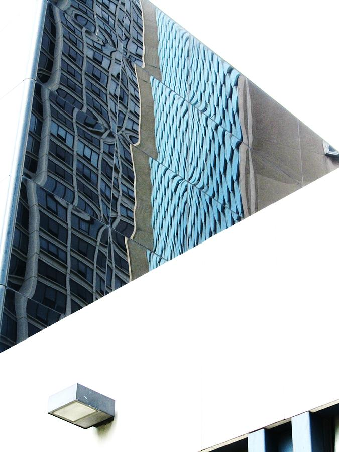 Chicago Building Photograph - Chicago Heat Wave-2 by Todd Sherlock