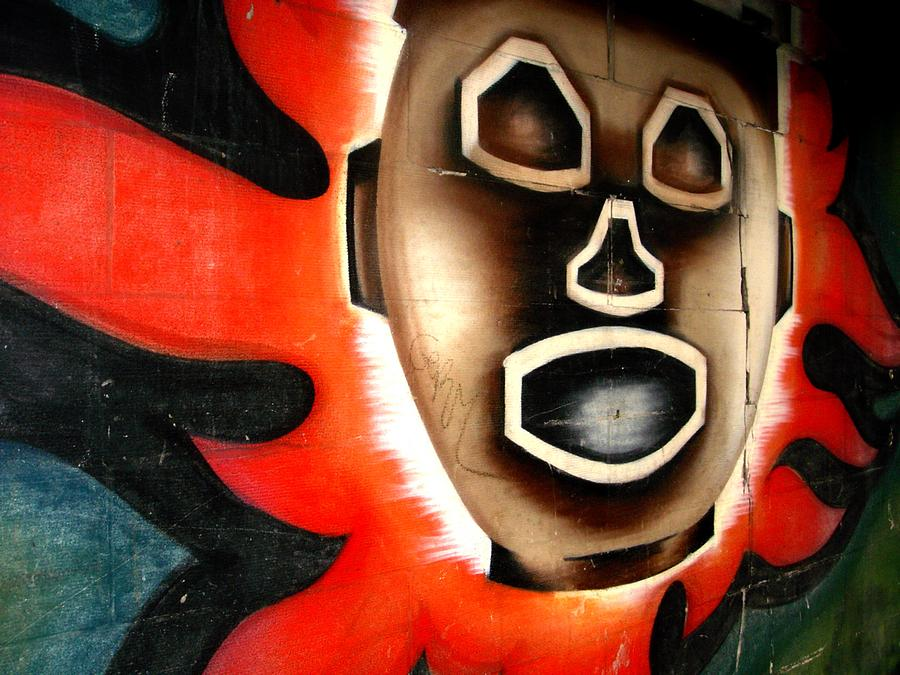 Chicago Graffiti Photograph - Chicago Mural by Anthony Citro