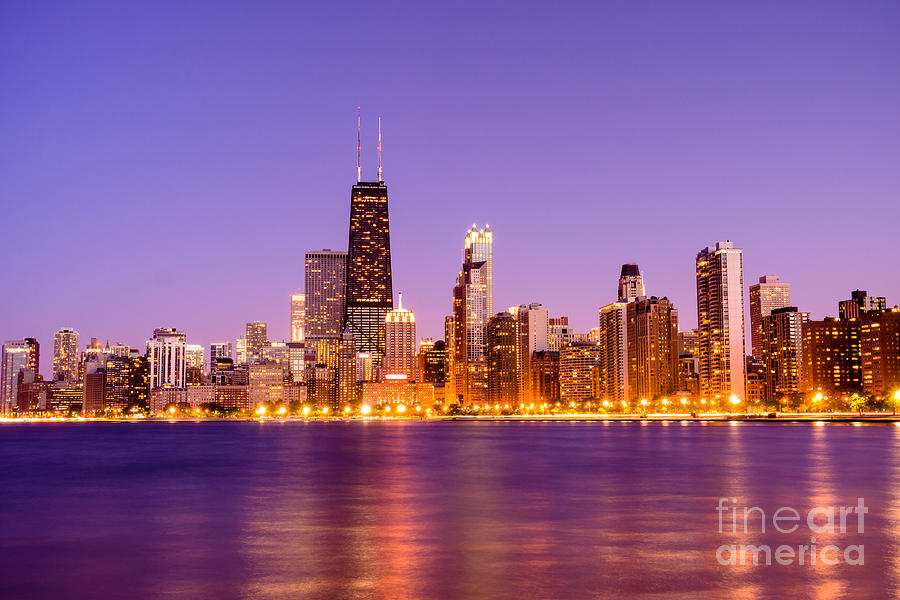 chicago skyline wallpaper iphone