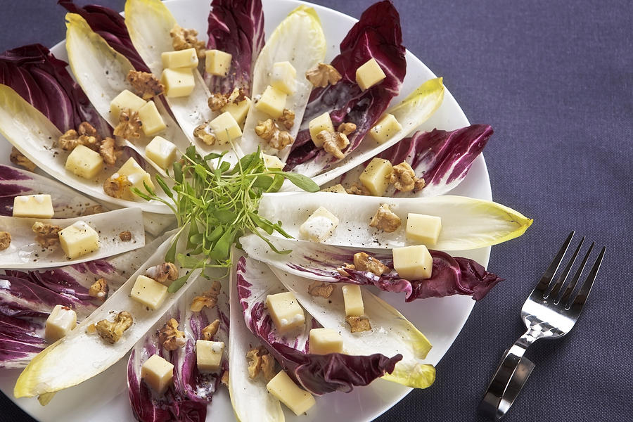 Chicory Photograph - Chicory Salad by Joana Kruse
