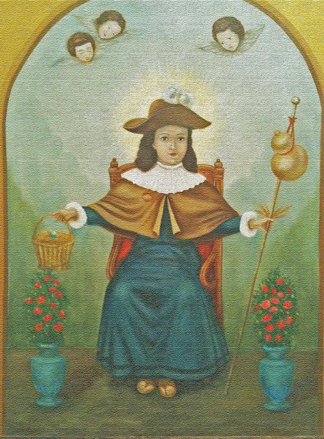 Saint Photograph - Child Jesus by Jesus Nicolas Castanon