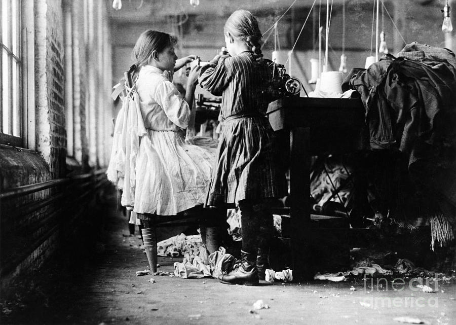 Child Labor Photograph - Child Labor by Omikron