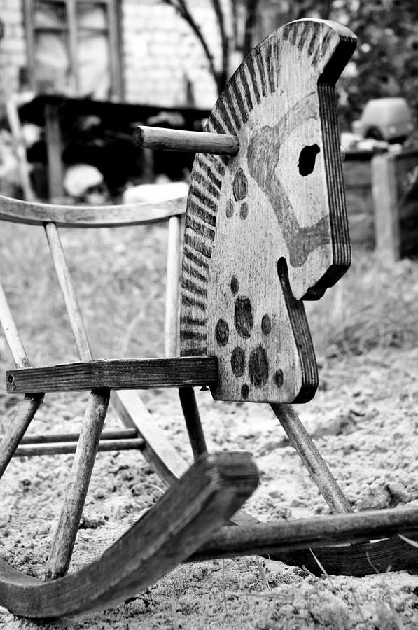 Horse Pyrography - Childhood by Sasha Gurkova
