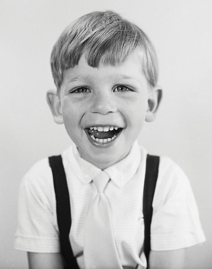 Child Photograph - Childish Glee by Chaloner Woods