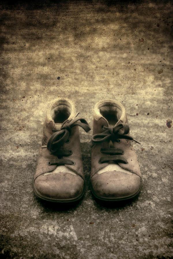 Shoe Photograph - Childrens Shoes by Joana Kruse