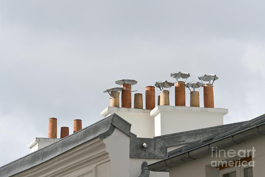 Chimneys of Montmartre by Fabrizio Ruggeri