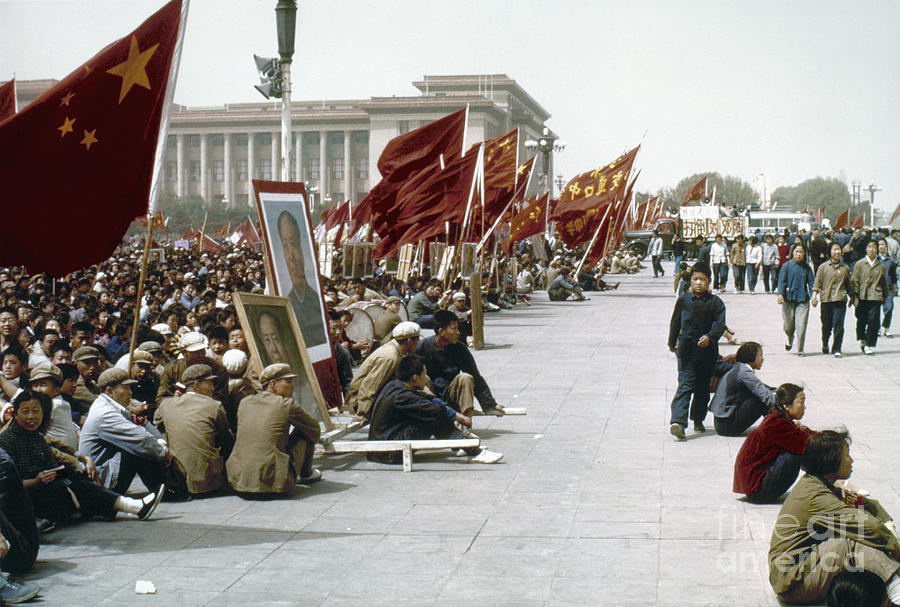 1967 Photograph - China: Cultural Revolution by Granger