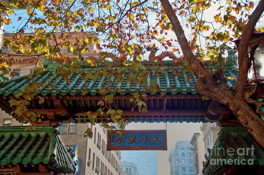 China Town San Francisco Photograph by Loriannah Hespe