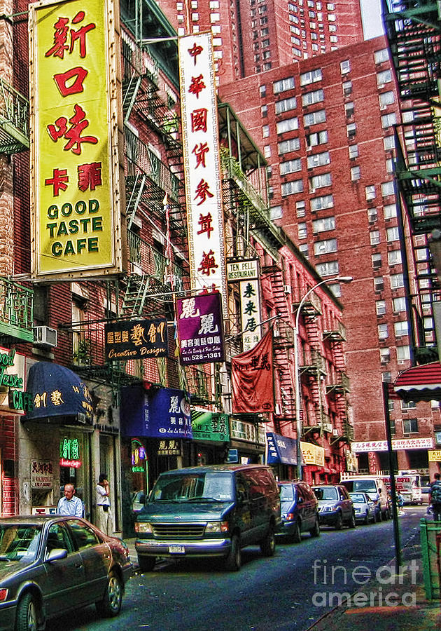 Chinatown Photograph - Chinatown Nyc 2 by Anne Ferguson