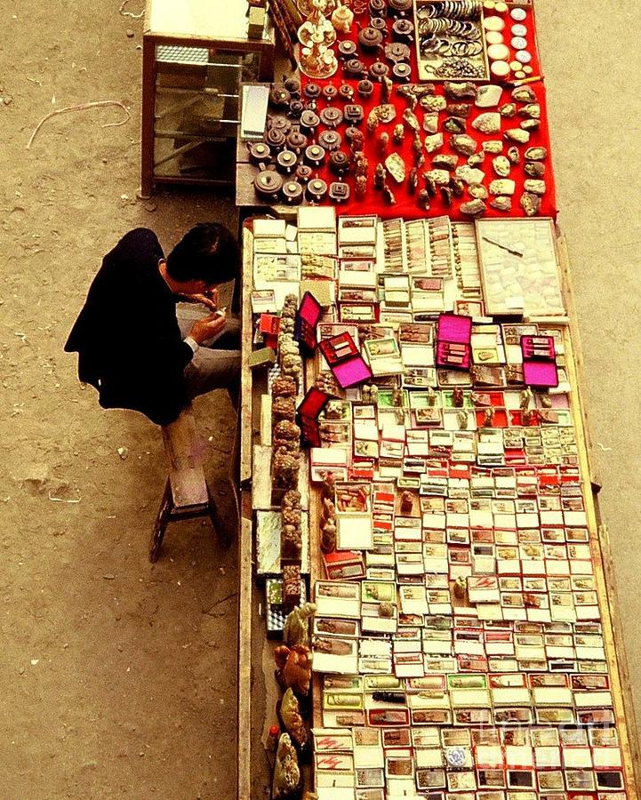 Ranjini Kandasamy Photograph - Chinese Chopmaker by Ranjini Kandasamy