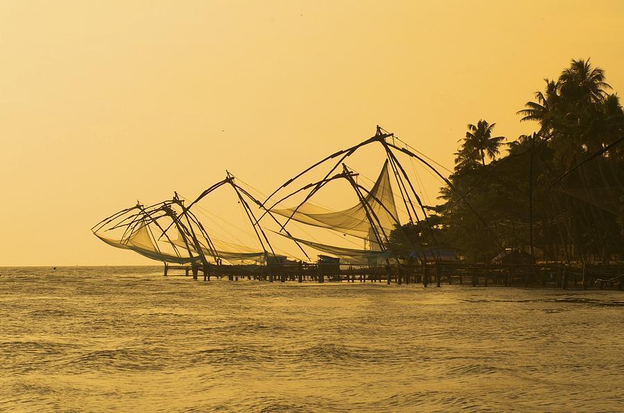 Fishing Photograph - Chinese Fishing Nets by Valerie Rosen