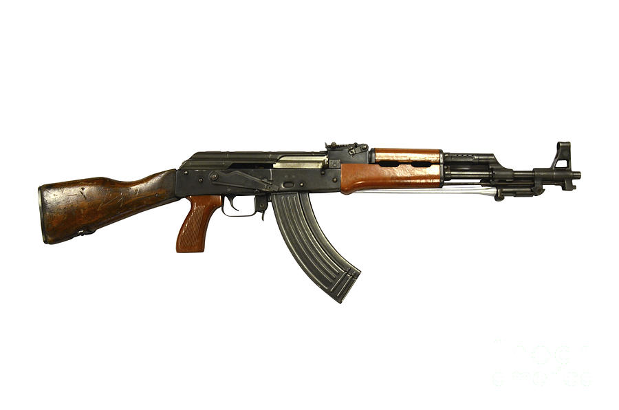 Chinese Type 56 Assault Rifle Photograph By Andrew Chittock