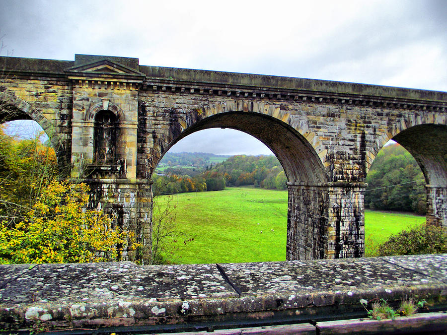 Chirk Aqueduct Photograph - Chirk Aqueduct 1 by Lorainek Photographs