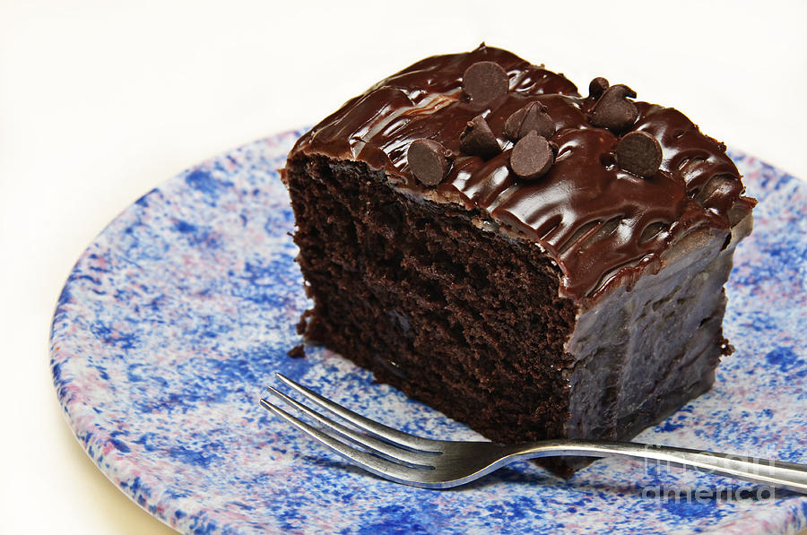 How To Make Choco Chips Cake