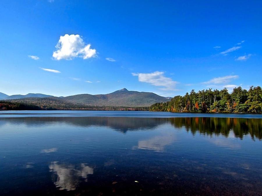 Mountain Photograph - Chocorua Blues by Elizabeth Tillar