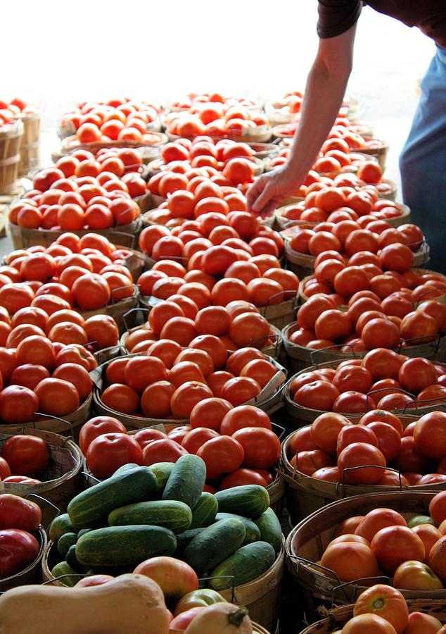 Farmers Market Photograph - Choices by Kristin Elmquist