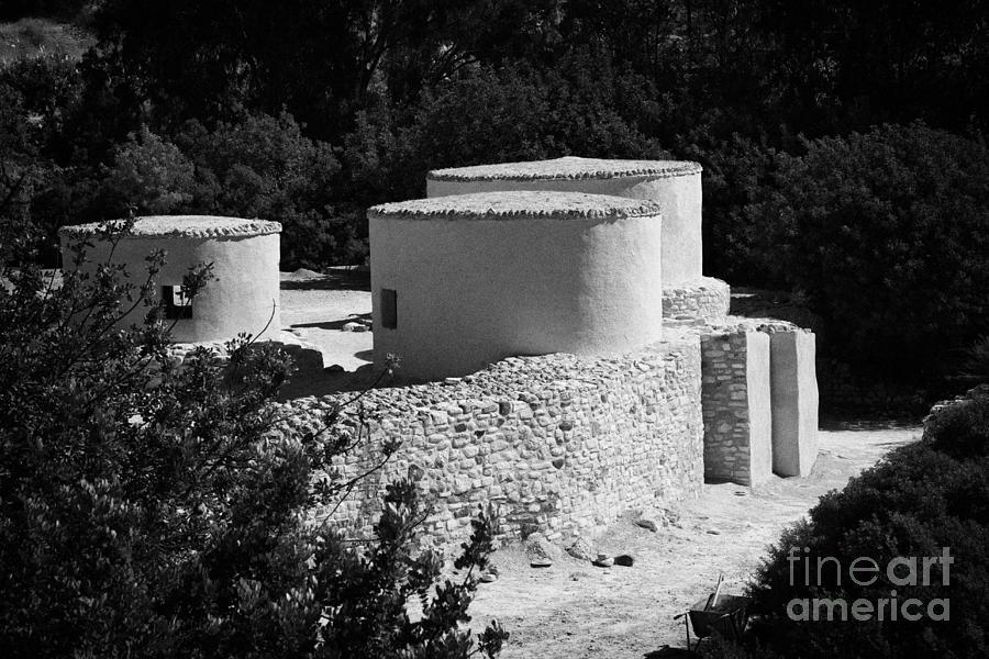 Choirokoitia Photograph - Choirokoitia Ancient Neolithic Village Settlement Republic Of Cyprus by Joe Fox