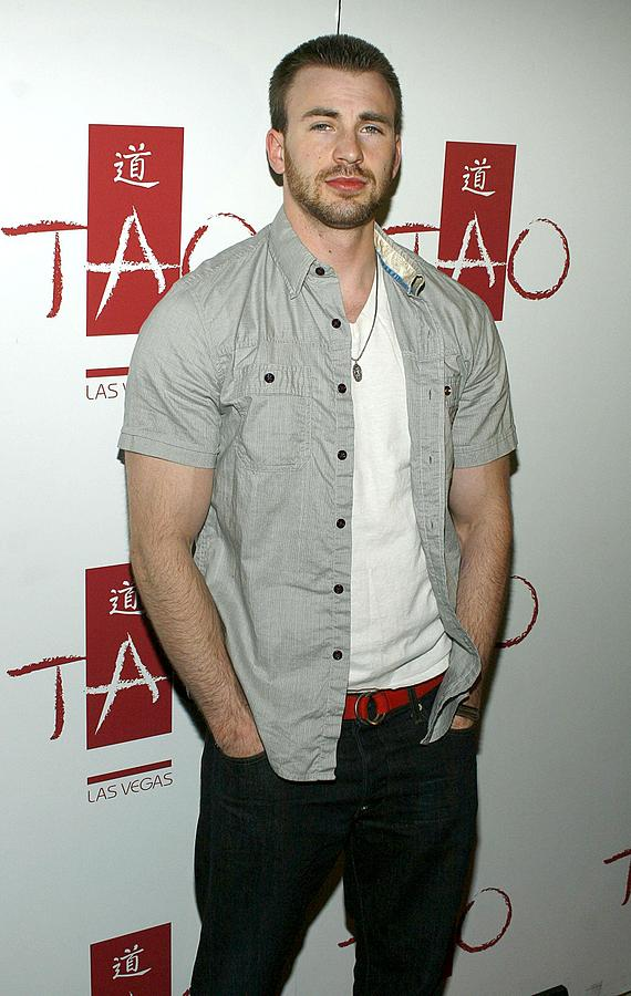 Party Photograph - Chris Evans At Arrivals For Tao Partner by Everett