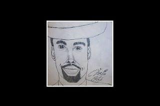 Chris Rock Drawing by Phillip Boyce