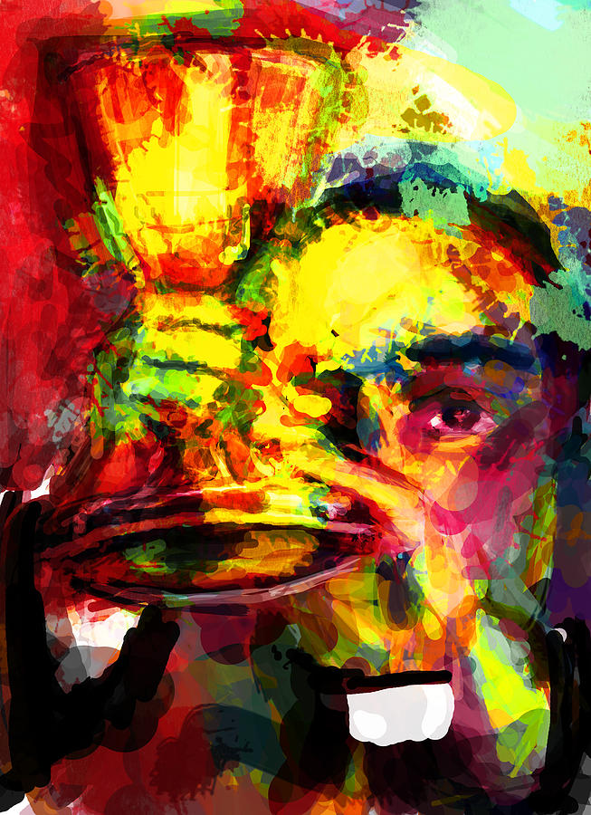 Catholic Digital Art - Christ Among Us by James Thomas