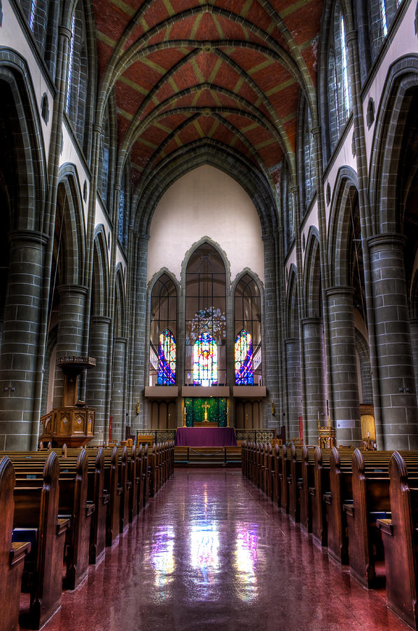 Jesus Christ Photograph - Christ Church Cathedral by Matt Dobson