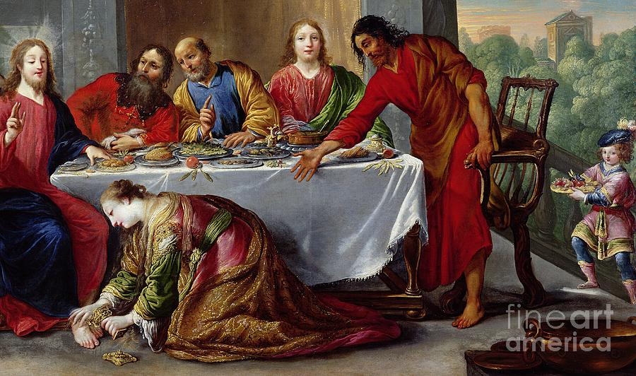 Image result for Jesus at the Home of Simon the Pharisee