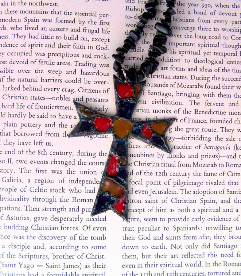 Bible Jewelry - Christian  Cross by Cynthia Amaral