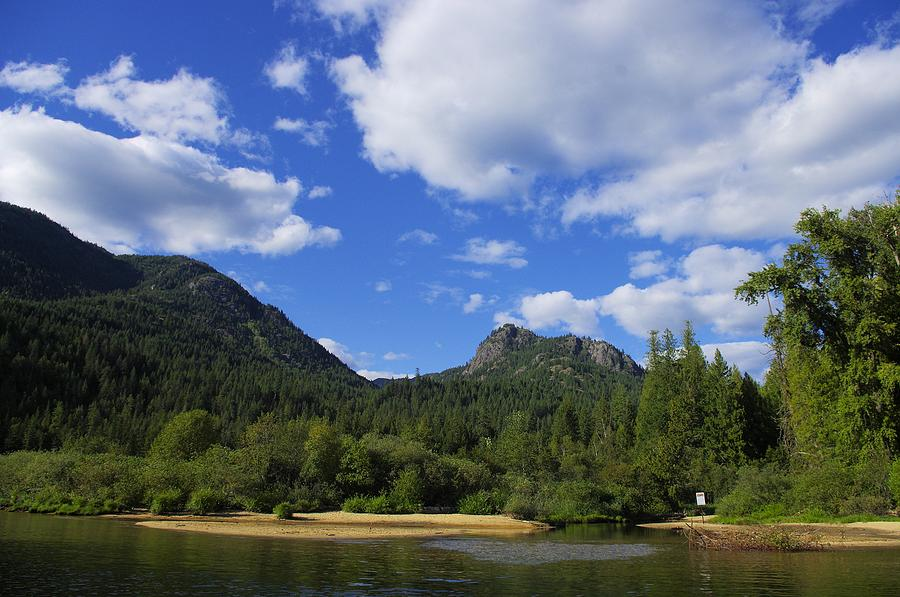 Christina Lake Photograph - Christina Lake - North End Of The Lake by John Greaves