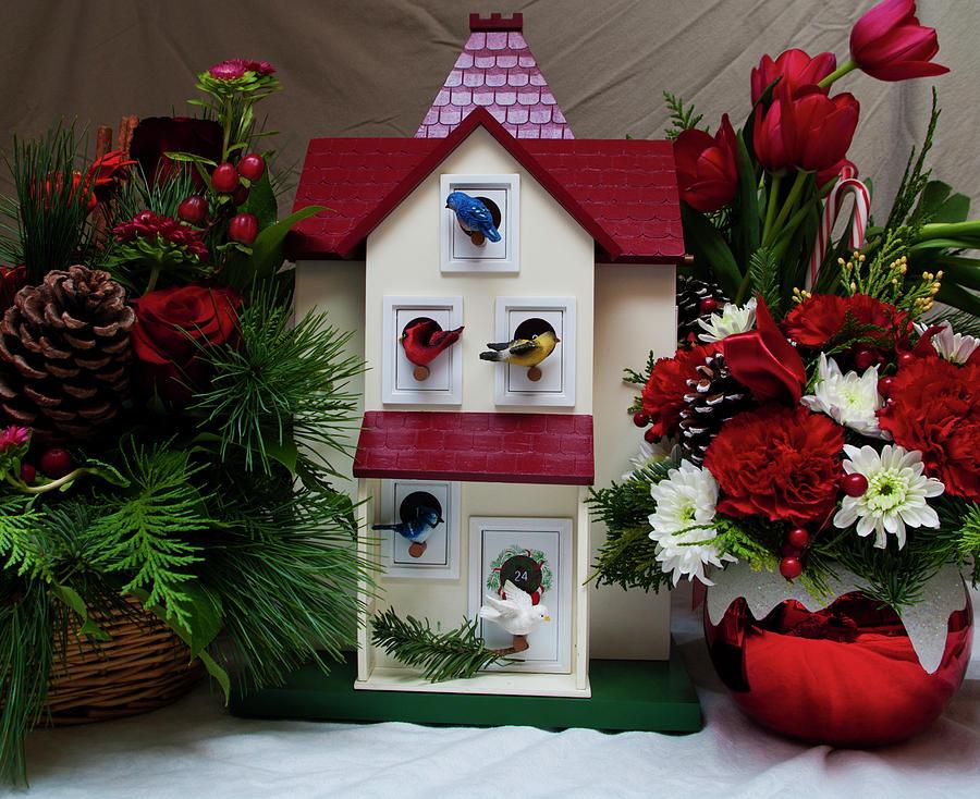 Christmas Advent House.Christmas Advent House By Shaddowcat Arts Sherry