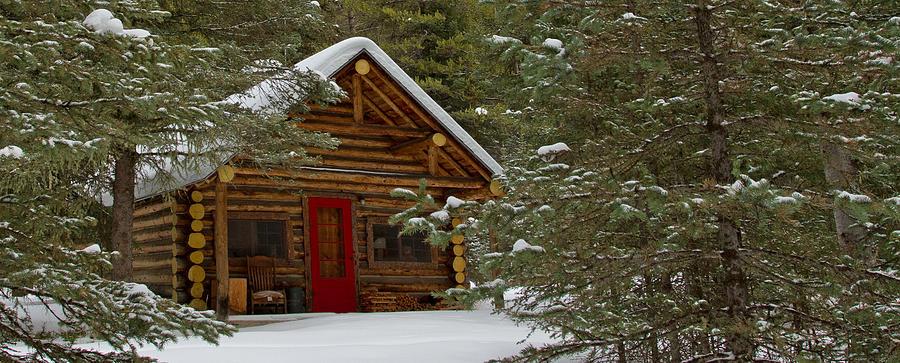 Christmas Cabin Photograph By Sandy Sisti
