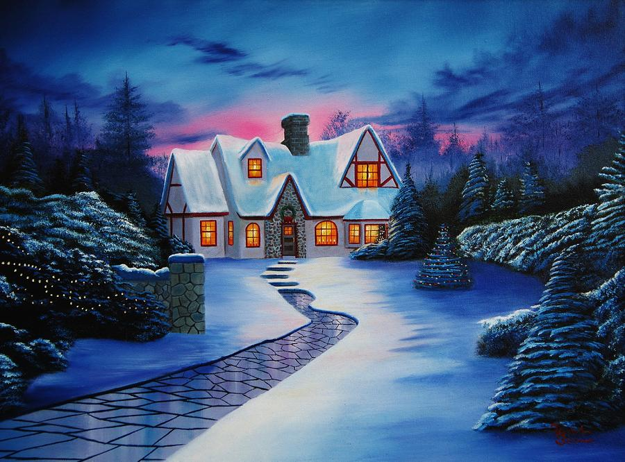 The Christmas Cottage.Christmas Cottage