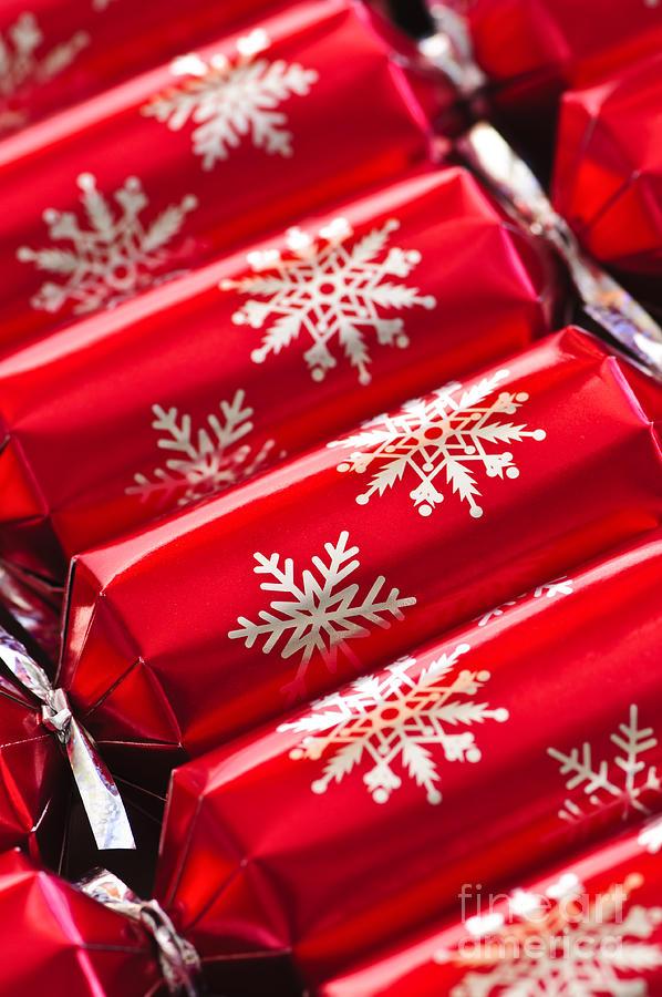 Christmas Photograph - Christmas Crackers by Elena Elisseeva